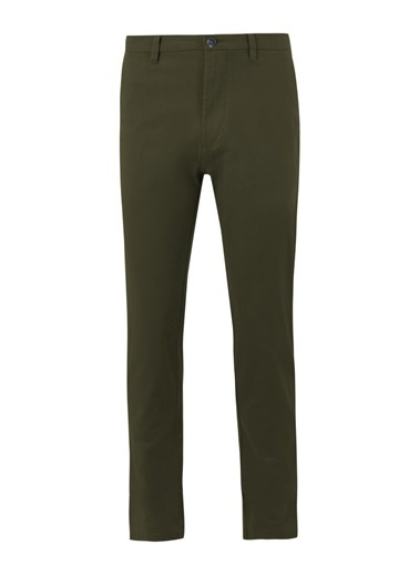 Marks & Spencer Slim Fit Chino Pantolon Yeşil